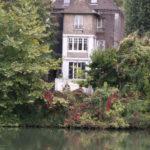 Maison de Bizet - vue sur la Seine