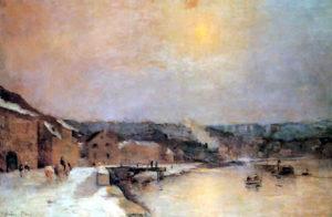Albert Lebourg, Bords de Seine à Bougival, 1885, Association des Amis du Petit Palais, Genève