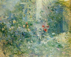 Berthe Morisot, Jardin à Bougival, 1884, Musée Marmottan, Paris.