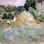 Berthe Morisot Les foins a Bougival
