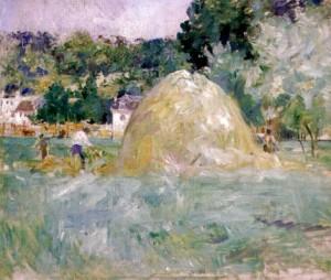 Berthe Morisot, Les foins à Bougival, 1882, Musée Marmottan, Paris