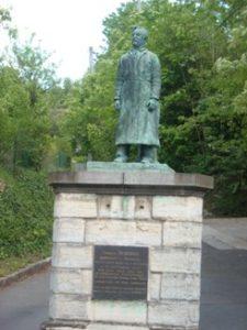 François Debergue Monument at Bougival.