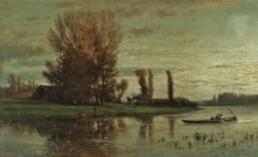 Emile-Charles Lambinet, 1863, Auction Patrick Debureaux