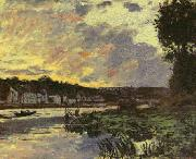 Claude Monet, Seine at Bougival, Evening, 1869, Smith College Museum of Art, Northhampton, USA