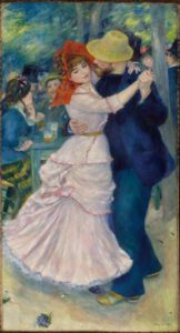 Dance at Bougival, 1883, Museum of Fine Arts à Boston