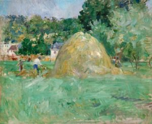 Berthe Morisot, Haystacks at Bougival, 1882, Musée Marmottan, Paris