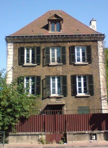 Georges Bizet's house at Bougival.