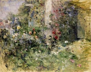 Berthe Morisot, The garden at Bougival, 1884, Musée Marmottan, Paris