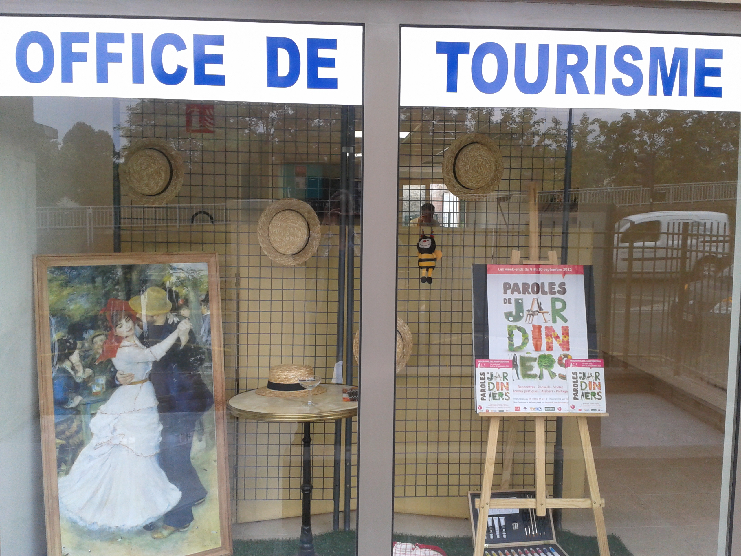 Bougivalaccueil de l 39 office de tourisme de bougival bougival for Office tourisme yvelines