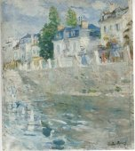 Berthe Morisot le quai