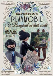 si Bougival m'était conté - Exposition Playmobil - collection privée Dominique Béthune
