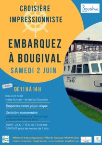 Croisière impressionniste - Embarquez à Bougival
